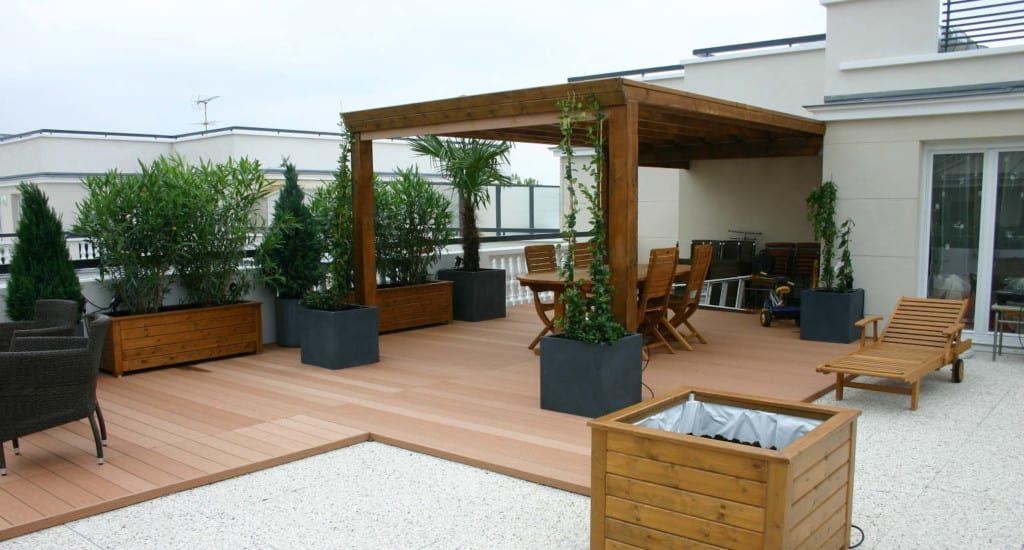 am nager sa terrasse unikit fr. Black Bedroom Furniture Sets. Home Design Ideas