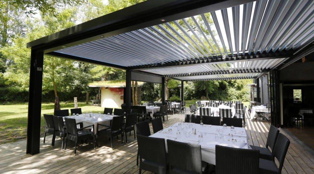 Tonnelle Pour Terrasse Restaurant